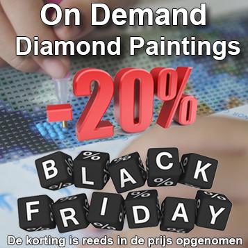 JobaStores Diamond Painting uit eigen voorraad Nederland, grootste assortiment NL/BE