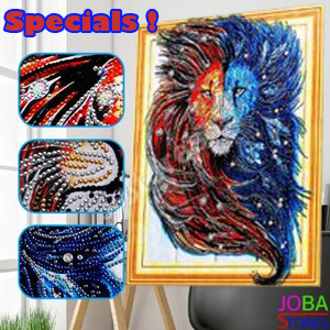 JobaStores Diamond Painting special strass frame