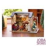 "Miniatuur Zelfbouw Huisje ""Holiday Times"" (Kerst)"