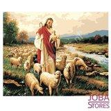 Schilderen op nummer Herder 40x50cm_