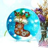 Diamond Painting Lamp Kerst 03 Sok