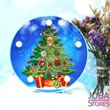 Diamond Painting Lamp Kerst 05 Kerstboom_