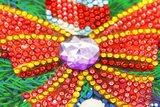 Diamond Painting Lamp Kerst 06 Kaars