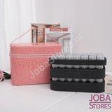 Diamond Painting Beautycase Bewaarkoffer 84 slots Roze sorteer sorteerdoos