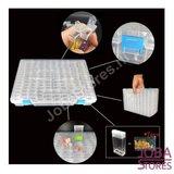 Diamond Painting Sorteerdoos 140 slots TicTac style + stickers