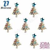 Nagel Sieraad Kerstboom (10 stuks)