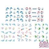 Nagel Sticker Set Dolfijnen (220 stickers)_