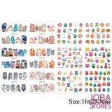 Nagel Sticker Set Uilen (192 stickers)_