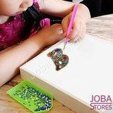 Diamond Painting Sleutelhanger Alfabet Letter Y_