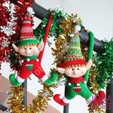 Kerst Poppen Set Elfjes (2 stuks)_