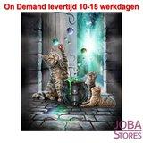 Diamond Painting Katten/Poezen Magisch