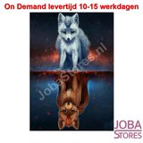 Diamond Painting Fantasy Wolf/Wolven