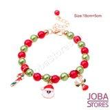 Kerst Armbanden set met bedeltjes