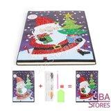Diamond Painting Notitieboek Kerst 01_