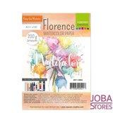 "Aquarelpapier ""Florence"" ivoor smooth 200g A5 (100 stuks)_"