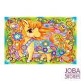 Diamond Painting voor kinderen Paard 33x23cm_