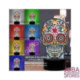 Diamond Painting 3D Illusie Lamp Skull_