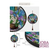 Diamond Painting Wandornament Tijger_