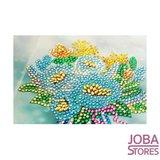 Diamond Painting Wenskaarten Set Bloemen (6 stuks)_