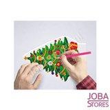 Diamond Painting 3D Illusie Lamp Kerst (Kerstboom)