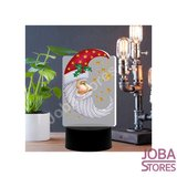 Diamond Painting 3D Illusie Lamp Kerst (Maan)
