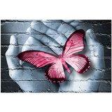 OP=OP Diamond Painting Handen Rood 40x30cm_