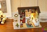 Miniatuur zelfbouw huisje - Happy Times_