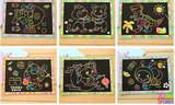 Kras tekeningen & kleurplaten in 1 assortiment 20 stuks_