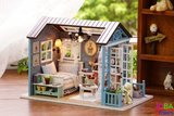 """Miniatuur zelfbouw huisje """"Forest Times""""_"""