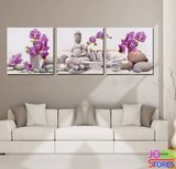 Diamond Painting Buddha Orchidee 120x40cm_
