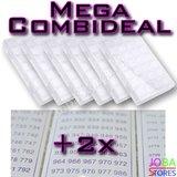 Diamond Painting Sorteerdoos Mega Combideal 28 slots (6 stuks + 2x DMC stickers)_