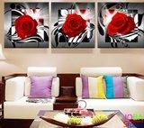 Diamond Painting Rozen 3 luiks 60x20cm_