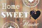 Diamond Painting Home Sweet Home 03 30x40cm_