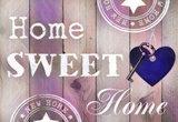 Diamond Painting Home Sweet Home 04 30x40cm_