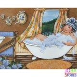 Diamond Painting Dikke Dames 02 40x30cm_