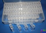 Diamond Painting Sorteerdoos Combideal 64 slots TicTac Style (2 stuks + DMC stickers)_