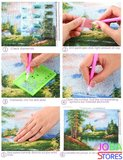 Diamond Painting Dikke Dames 14 30x40cm - Rond_