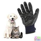OP=OP Katten/Honden Grooming Handschoenen Zwart (1 paar)_