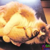 OP=OP Catnip Vis 13 20cm (2 stuks) Kattenspeelgoed met kattenkruid_