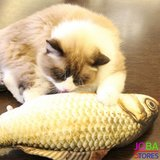 OP=OP Catnip Vis 05 20cm (2 stuks) Kattenspeelgoed met kattenkruid_