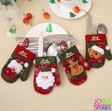 Kerst Bestekhouders Assorti (4 stuks)_