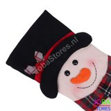 OP=OP Kerst Sok Sneeuwpop (48cm)_