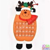 Kerst Advent Kalender Rendier_