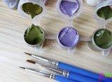 Schilderen op nummer Gekleurde Olifant 40x50cm_