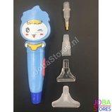 OP=OP Diamond Painting Pen Verlicht 02 met 4 opzetstukjes_