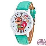 Kerst Horloge 01 Groen_