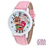 OP=OP Kerst Horloge 01 Licht Roze_