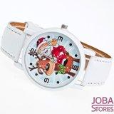 OP=OP Kerst Horloge 01 Wit_