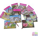 Magische Water Schilderkaarten/Kleurplaten (25 stuks)_
