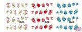 Nagel Sticker Set Glitter & Bloemen (55 vellen)_